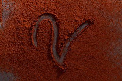superficie di cacao della fotografa di food elisa andreini